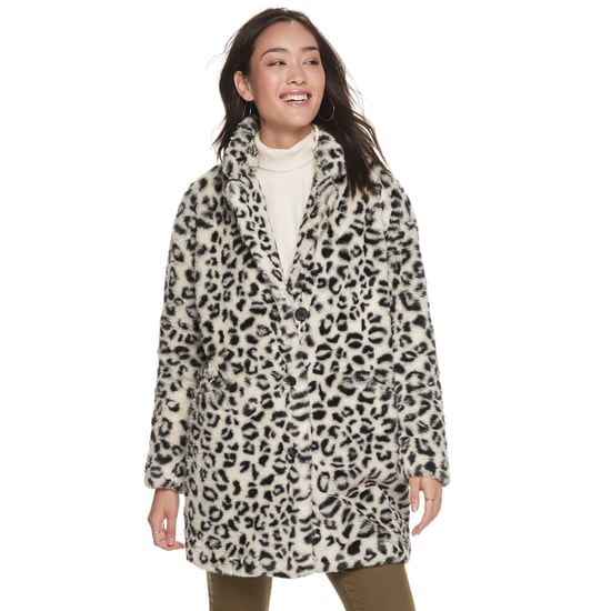 Faux Fur Coats Under $100 From POPSUGAR at Kohl's