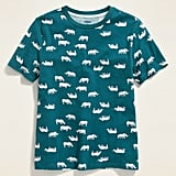 Softest Printed Crew-Neck Tee For Boys