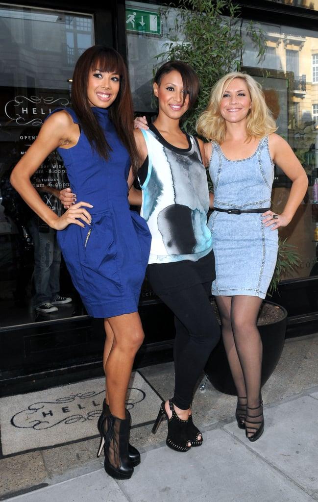 New Sugababes Lineup At Radio 1 — Jade Ewen, Heidi Range, Amelle Berrabah