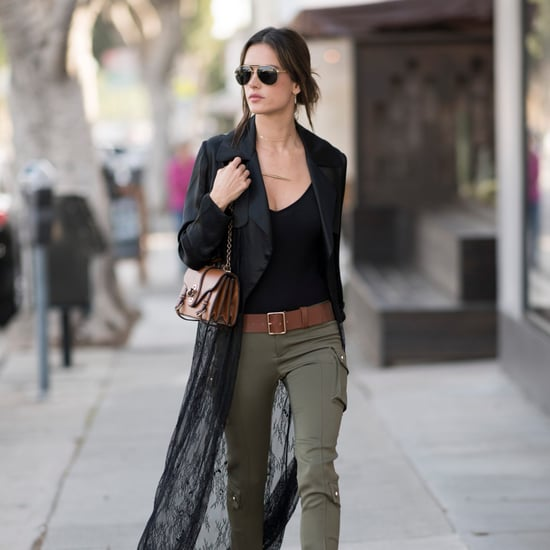 Alessandra Ambrosio's Best Street Style 2017