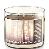 Marshmallow Fireside candle ($23)