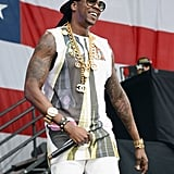 2 Chainz performed at the Made in America Festival.