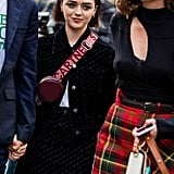 Maisie Williams at Stella McCartney's Paris Fashion Week Show