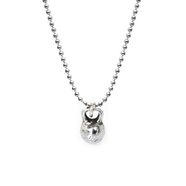 kettlebell charm and chain