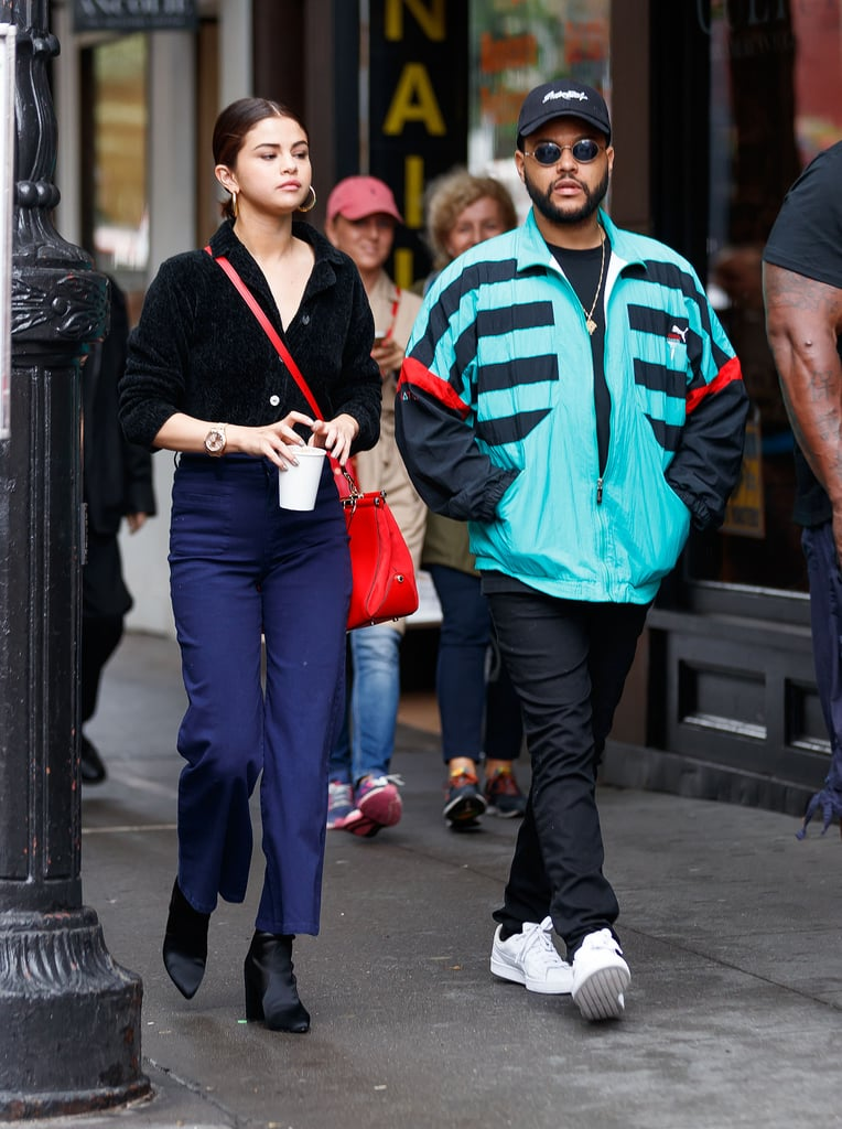 Selena Gomez and The Weeknd Took a Stroll in NYC