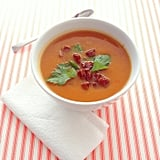 Spicy Pumpkin and Chorizo Soup