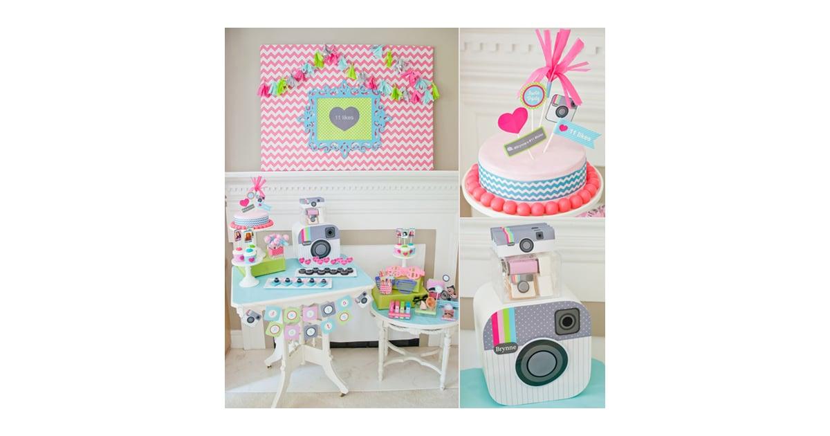 A Tween-Tastic Instagram-Themed Birthday Party | Best Birthday Party ...