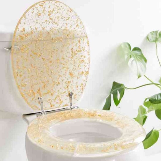 Gold Glitter Toilet Seats From Urban Outfitters