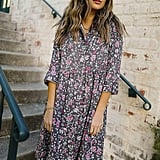 A Springy Floral Dress