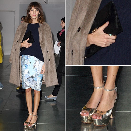 Shop Alexa Chung's Front Row Style as Seen at the Christopher Kane 2012 A/W Show at London Fashion Week