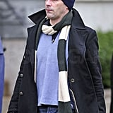 Pictures of Jon Hamm and Jennifer Westfelt on the Set of Friends With Kids