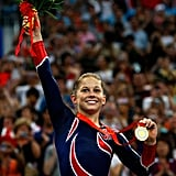 Shawn Johnson at the 2008 Olympics in Beijing