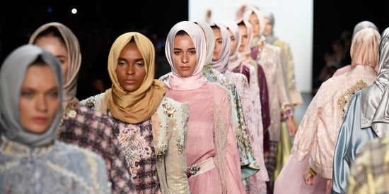 Behold The Glory Of New York Fashion Week's First All-Hijab Show