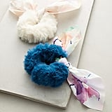 Anthropologie Faux Fur Pony Holder Set