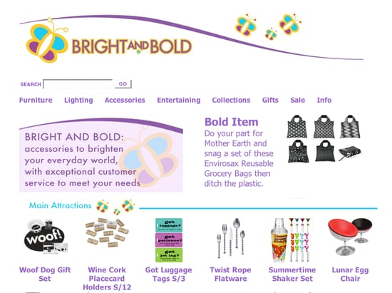 Fab Site: BrightAndBold.com