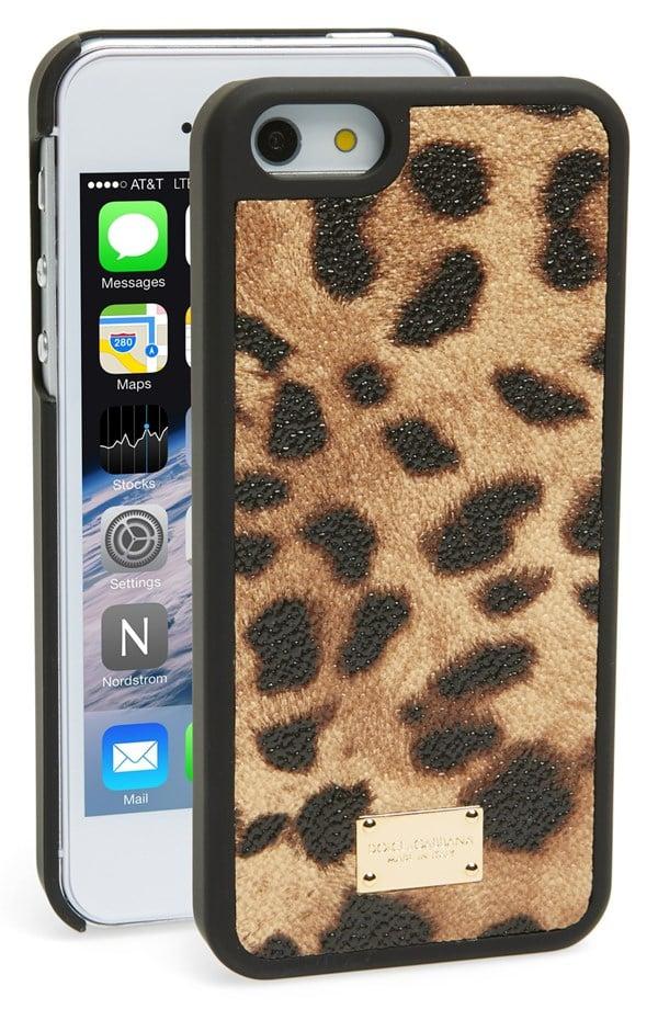 Dolce & Gabbana Leopard-Print iPhone 5 Case