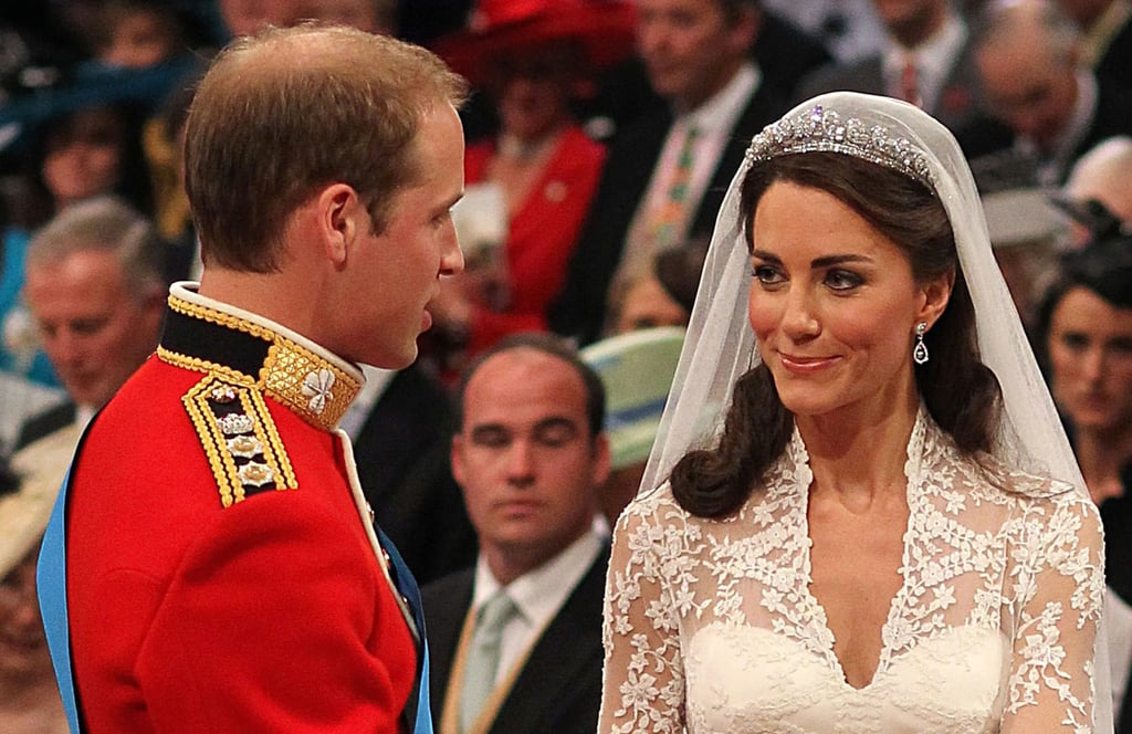 Kate gave William a cute smile.