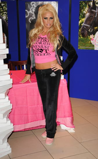 Pictures of Katie Price at KP Equestrian and KP Baby Signing in Lakeside