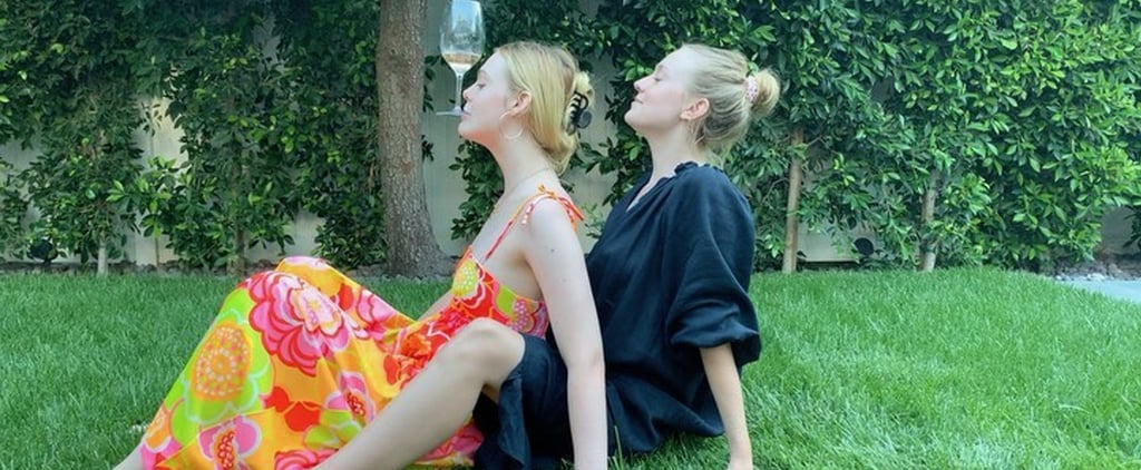 Dakota and Elle Fanning Try Cameron Diaz's Wine Challenge