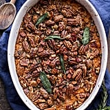 Bourbon Sweet Potato Casserole With Sweet 'n' Savory Bacon Pecans