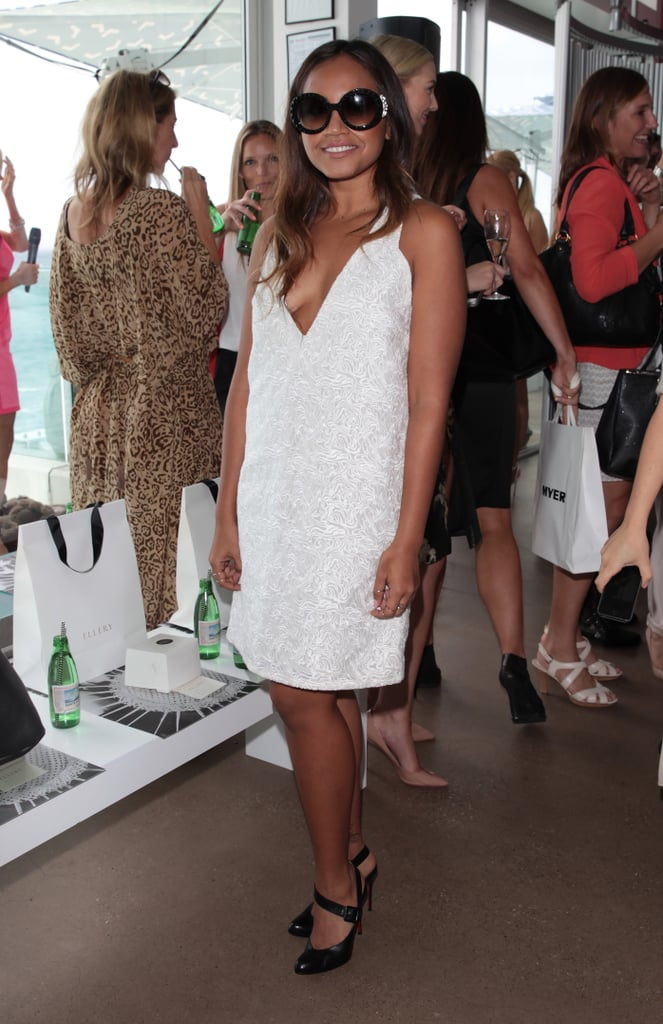Jessica Mauboy at Ellery Spring Summer 2014/2015