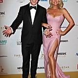 Ben Fordham and Rebecca Maddern