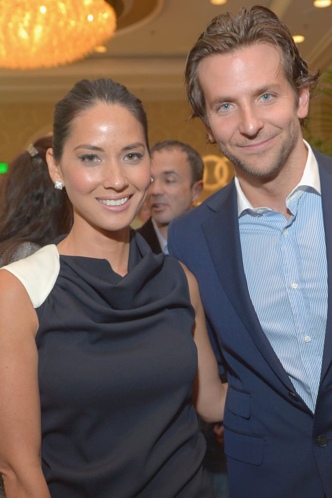 Olivia Munn posed with Bradley Cooper.