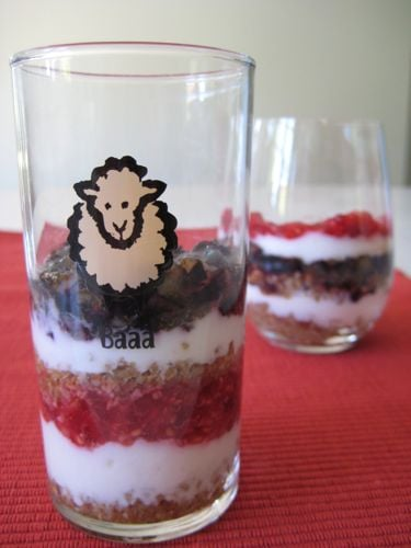 Red, White, & Blue Parfaits