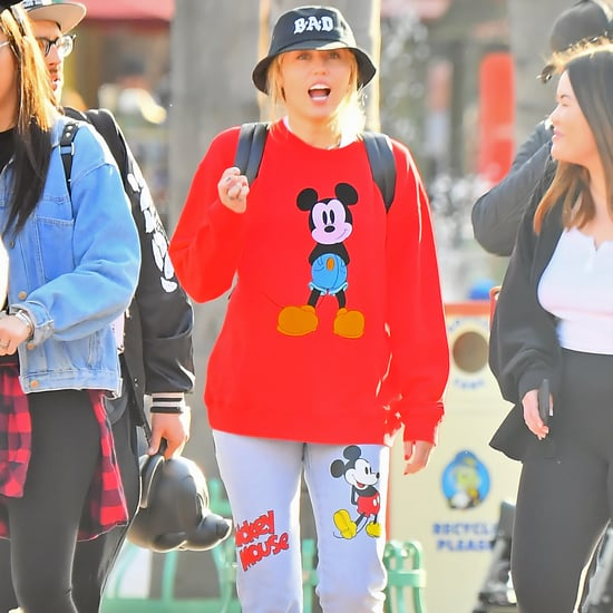 Miley Cyrus Disney Outfit April 2019