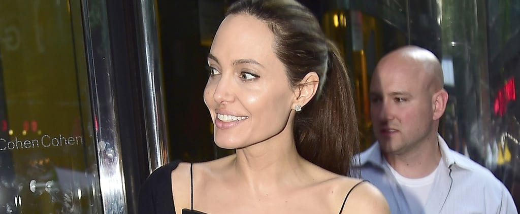 Here's What's So Special About Angelina Jolie's Summer Date Night Look