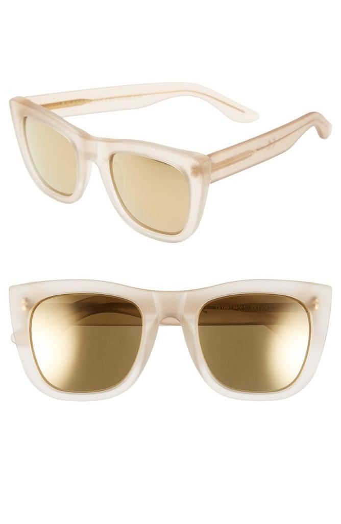 SUPER by RETROSUPERFUTURE 'Gals' 50mm Mirrored Sunglasses ($229)