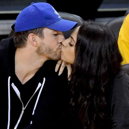 Ashton Kutcher and Mila Kunis at the 2016 NBA Finals Photos
