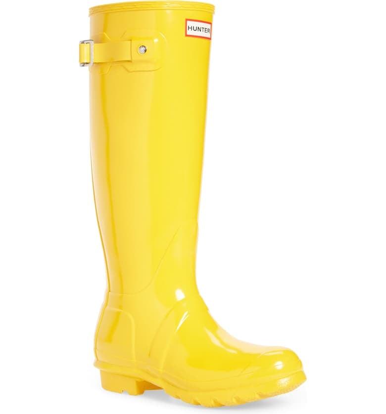 Hunter Original High Gloss Waterproof Boots