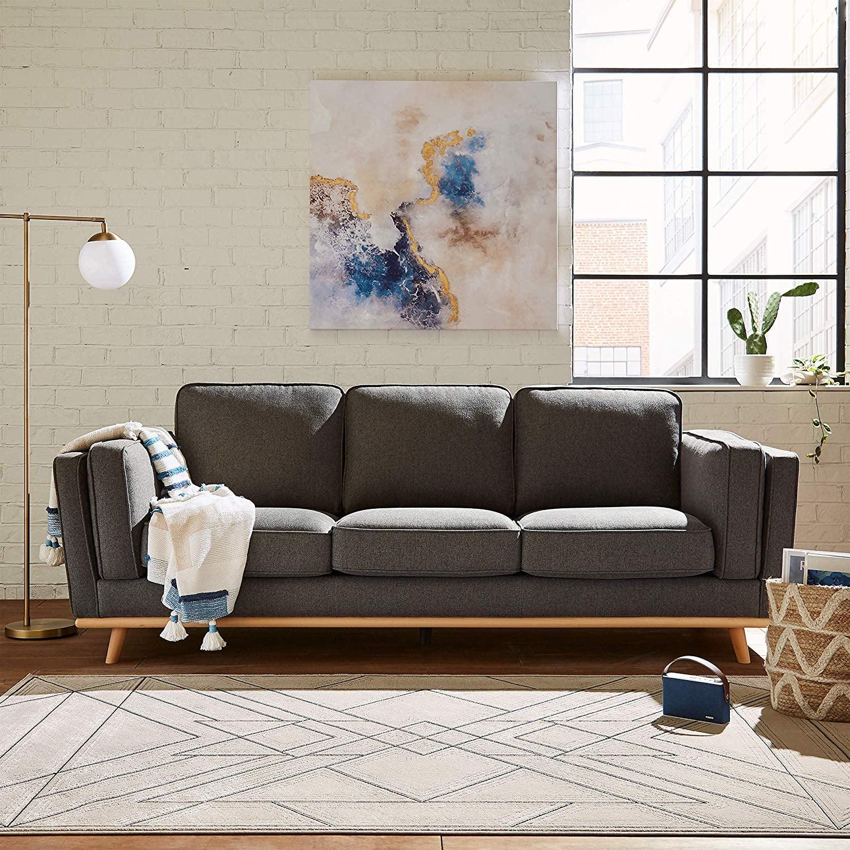 Picture of: Rivet Rockwood Modern Sofa Best Sofas 2020 Popsugar Home Australia Photo 15