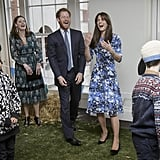 When Will, Harry, and Kate All Cracked Up During a Welly Wrangling Competition