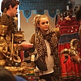 Liam and Miley went shopping together in Sydney in June 2011.