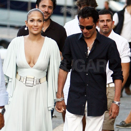 Jennifer Lopez and Marc Anthony in Portofino