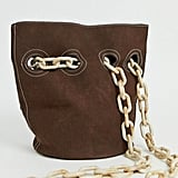 Glamorous Slouch Shoulder Bag With Chain Straps