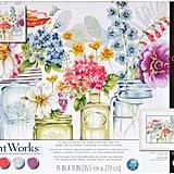 Dimensions Rainbow Flowers Painting Kit