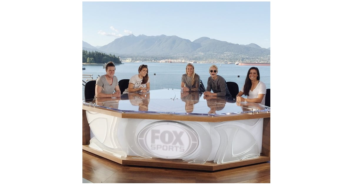 The ladies took over Fox Sports from Vancouver.