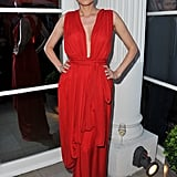 Diane Kruger Wearing YSL at the amfAR Inspiration Gala in 2011