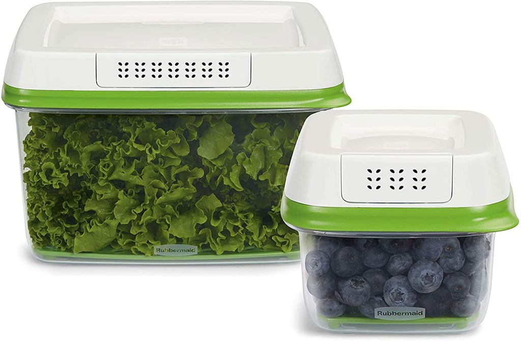Smart Produce Savers: Rubbermaid FreshWorks Food Storage Container Set