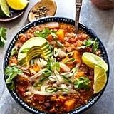 Vegetarian Chipotle Chili With Quinoa