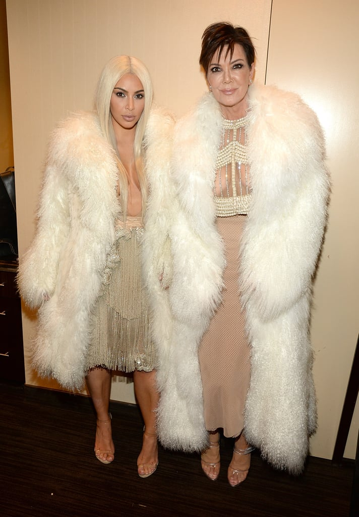 93c30b0558 The Kardashian-Jenner Family at Kanye West s Fashion Show