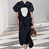 Kaia Gerber on the Loewe Fall 2020 Runway at Paris Fashion Week