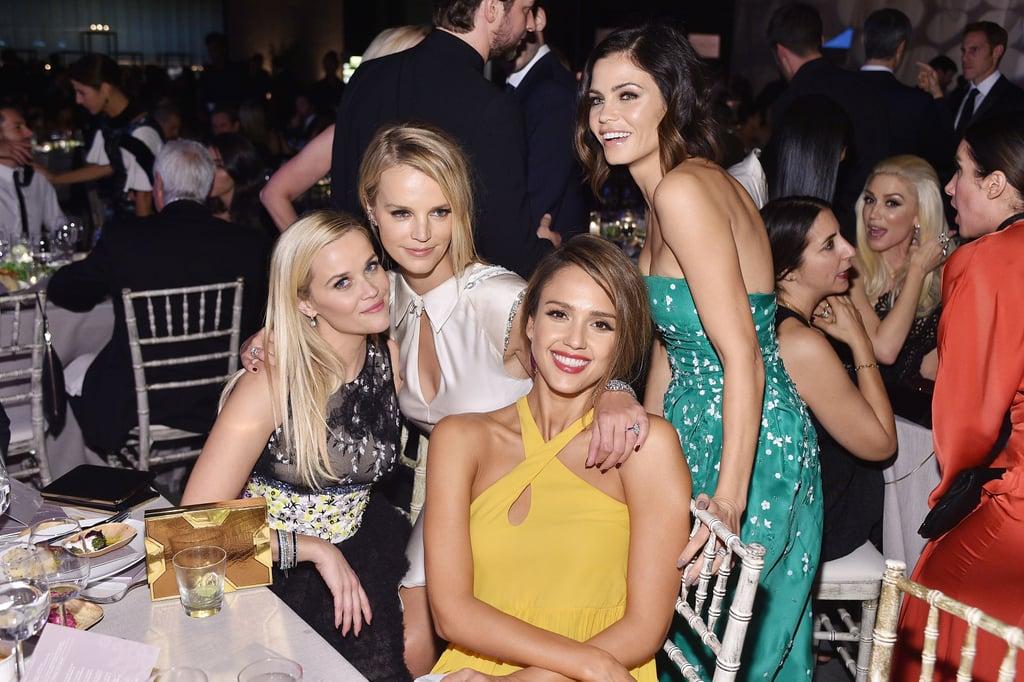 Pictured: Jessica Alba, Reese Witherspoon, Jenna Dewan Tatum, and Kelly Sawyer Patricof