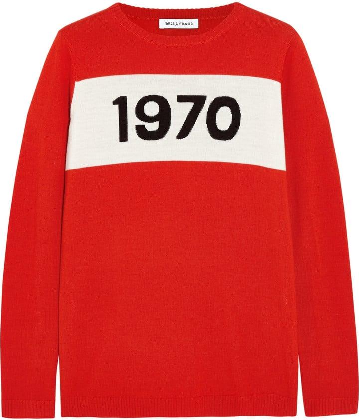 Bella Freud 1970 Wool Sweater ($420)