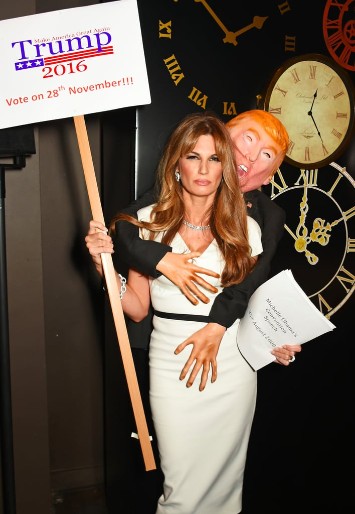 This British Journalist Crushed Her Melania Trump Costume