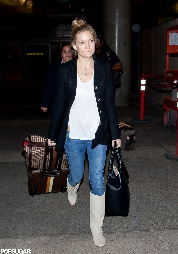Kate Hudson stepped out in jeans in LA.