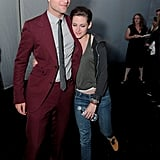 Robert Pattinson and Kristen Stewart held on to each other at the LA afterparty for Eclipse in 2010.